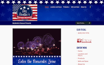 Big Bertha's Discount Fireworks
