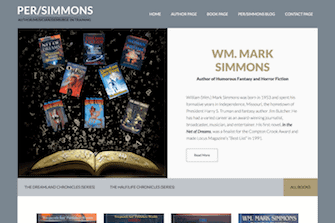 Wm Mark Simmons, Author